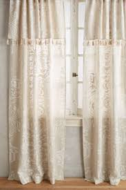 Gold Foil Curtain by Smithery Curtain Rod Dining Room And Office Spaces