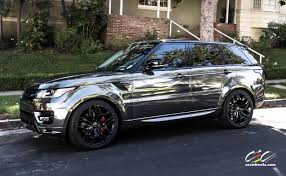 land rover white black rims range rover sport