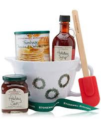 food gift sets stonewall kitchen breakfast batter bowl gift set gourmet food