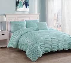 Extra Long King Comforter 4 Piece Nikki Charcoal Comforter Set