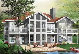 lakefront home plans luxury ideas lakefront home plans with walkout basement waterfront