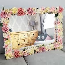 Flowers On - best 25 flower mirror ideas on diy makeup vanity