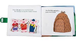 pigs cloth activity book rosalina
