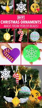 diy perler bead ornaments kavett