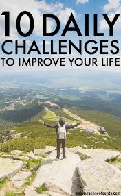 Challenge How Do You Do It Daily Challenges To Improve Your Daily Challenge List