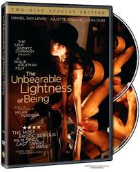 The Unbearable Lightness Of Being Movie The Unbearable Lightness Of Being By Philip Kaufman Daniel Day
