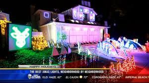Santee Christmas Lights The Best Christmas Lights Neighborhood By Neighborhood Cbs News