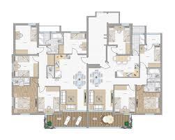 top view floor plan 2d furniture floorplan top down view style 3d model cgtrader com