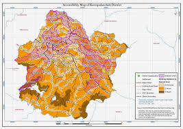 Maps Nepal by Mapping Earthquake Affected Area Nepal 2015