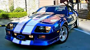 camaro modified chevrolet camaro third generation wikipedia