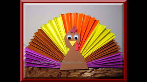 easy diy thanksgiving crafts for kids youtube