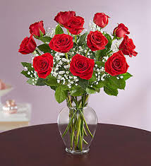 Long Stem Flowers Rose Elegance Premium Long Stem Red Roses 1 800 Flowers Com