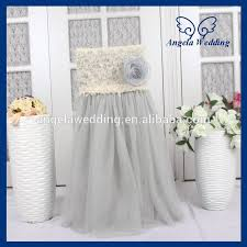 wedding chair covers wholesale awesome popular tulle chair covers buy cheap tulle chair covers