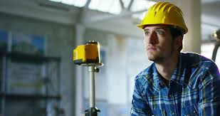 Home Design And Architect On A Construction Site A Worker Or An Engineer Or Architect