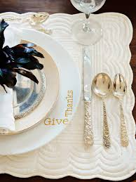 how to decorate a thanksgiving dinner table how to make hand painted plates hgtv
