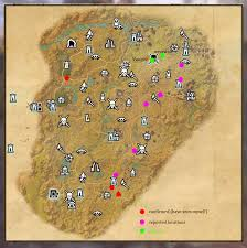 Deshaan Treasure Map Vampire Werewolf Spawn Locations U2014 Elder Scrolls Online