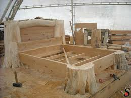 best 25 timber bed frames ideas on pinterest timber beds log