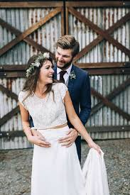 country wedding flower dresses a boho country wedding with flowers the wedding playbook