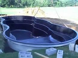 Backyard Leisure Pools by Leisure Pools First Deep End Fiberglass Pool Installed In Al Youtube