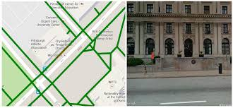 Google Pittsburgh Ijgi Free Full Text Real Time Sidewalk Slope Calculation