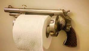 paper holder revolver toilet paper holder your bathroom needs this