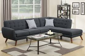 Grey Tufted Sectional Sofa by Grey Fabric Sectional Sofa Steal A Sofa Furniture Outlet Los