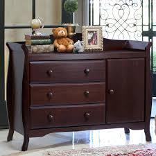 Crib Dresser Changing Table Combo Storkcraft 3 Nursery Set Vittoria Convertible Crib Aspen