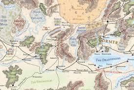 Map Of Faerun The Western Heartlands