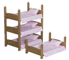 Doll Bunk Bed Plans Stackable Bunk Beds Startcourse Me