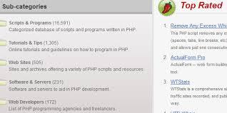 10 websites download free php scripts