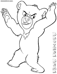 brother bear coloring pages coloring pages download print