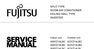 fujitsu air conditioner service manual all about air conditioner