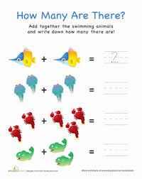 preschool math worksheets u0026 printables education com