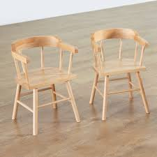 Wooden Arm Chairs Buy Captain U0027s Wooden Armchairs 4pk Tts