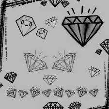 hand drawn diamond brushes photoshop brushes free download
