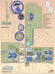 Montana State Campus Map by Car Rider Maps Barbers Hill Independent District