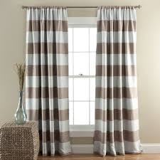 Pink And Brown Curtains For Nursery by Blackout Curtain Rod Rods Wrap Around In Leading Blockaide Wrap