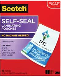 business card laminator scotch ls851g self sealing laminating pouches 9 5