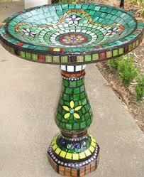 96 best mosaic birdbath images on pinterest mosaic bird baths
