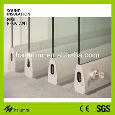 movable partition aluminium office glass divider glass partition