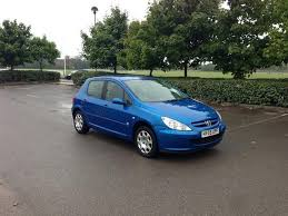 blue peugeot for sale used 2005 peugeot 307 hatchback 1 4 16v zest 5dr petrol for sale in
