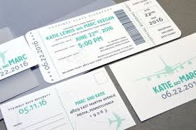 boarding pass wedding invitations boarding pass wedding invitations plane ticket invite set aqua and