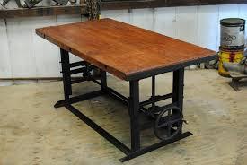 Bar Kitchen Table by Antique 1940 U0027s Crank Table Bar Kitchen Island