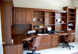 Wooden Home Office Desk Wall Units Inspiring Custom Built Office Cabinets Custom Built