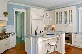 multi level kitchen island multi level white cabinet breakfast island with blue countertops