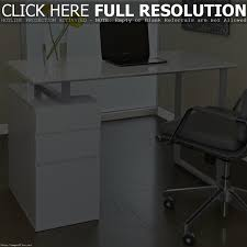 corner desk white gloss fabulous large size of home minimalist