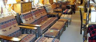 rustic sofas and loveseats sofas loveseats ottomans owls head rustics