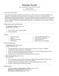sample of resume for caregiver example of resume summary msbiodiesel us caregiver resume examples resume format download pdf executive summary resume example