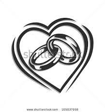 symbol of ring in wedding wedding ring vector illustration isolated stock vector