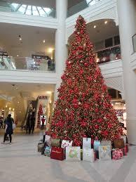 mall christmas tree christmas lights decoration